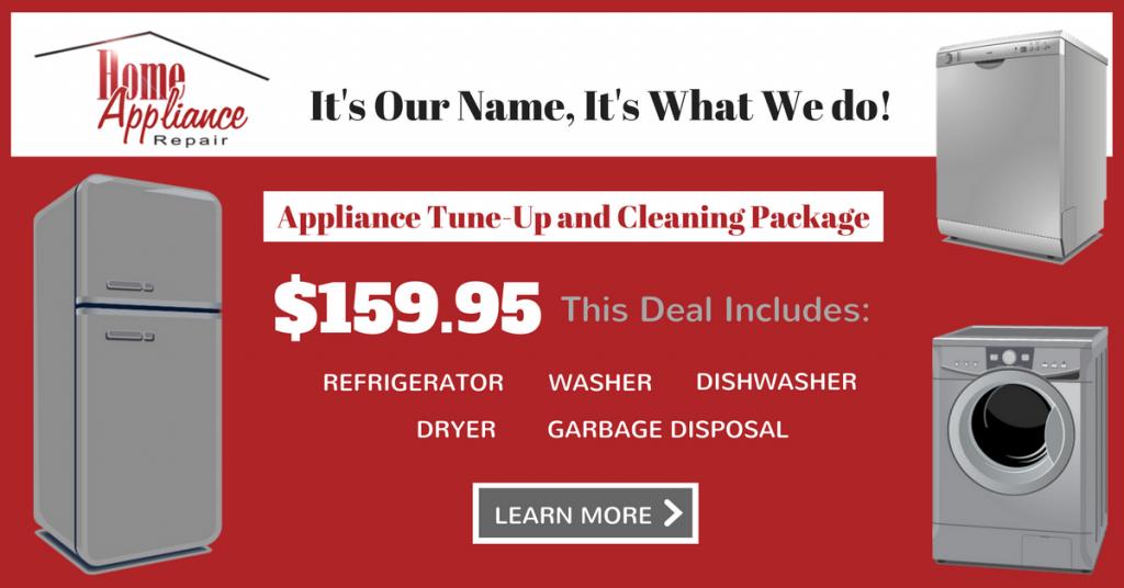 Specials | Home Appliance Repair