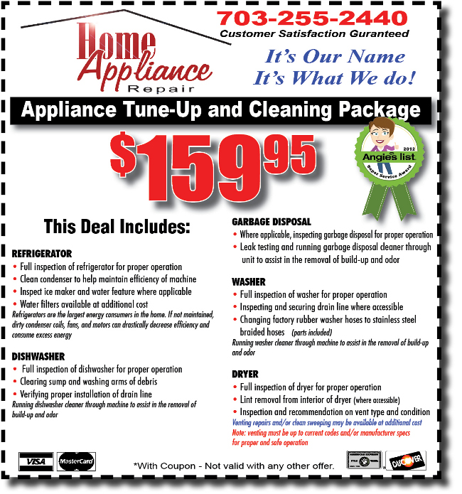 Appliance Tuneup